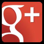 Le logo de Google+ en grand