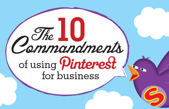 Les 10 commandements du marketing sur Pinterest