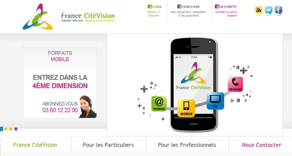 Home Page de France Citévision