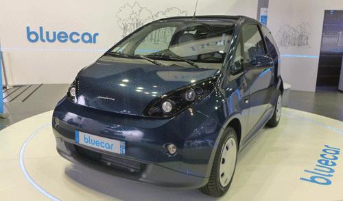 La Bluecar de Bolloré au Mondial de l'Automobile