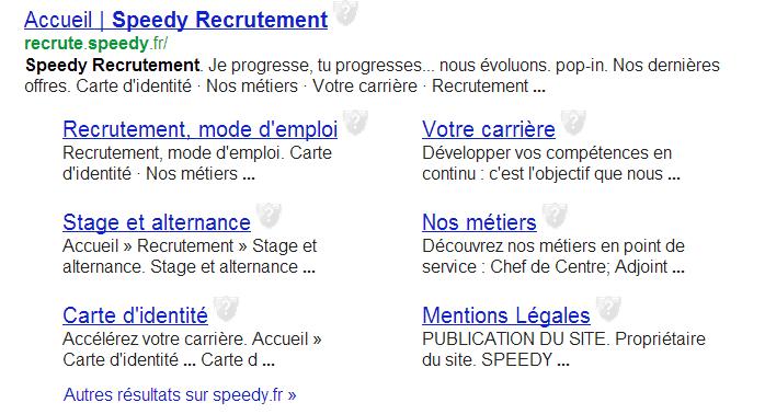 Visibilité Google pour un mini-site dédié au recrutement sur un sous-domaine
