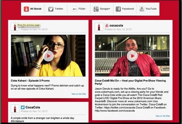 Plug-in Social Coca-cola