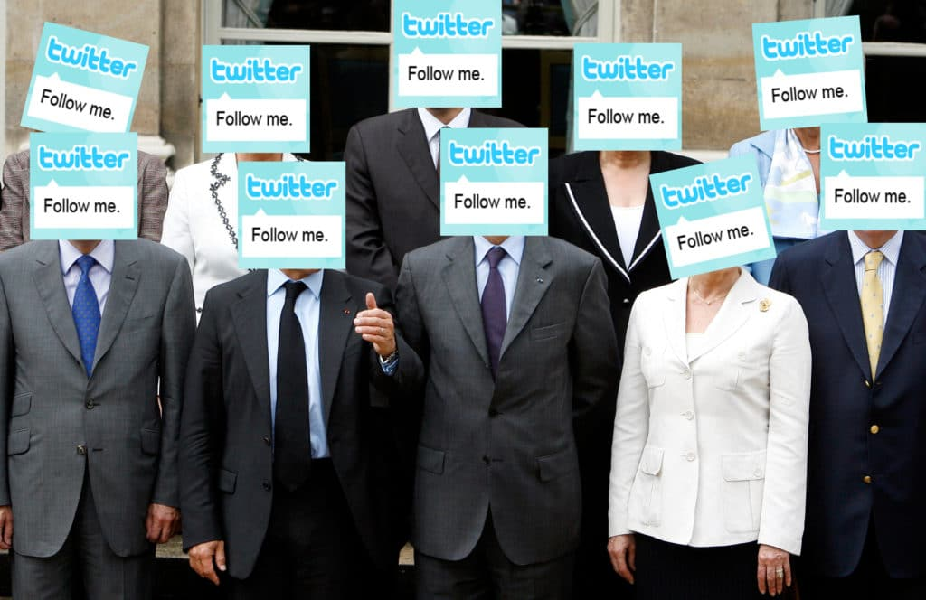 Twitter en politique
