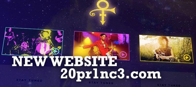 Prince-new-website