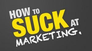 marketing suck