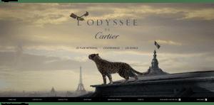 Stratégie digitale du luxe: Cartier