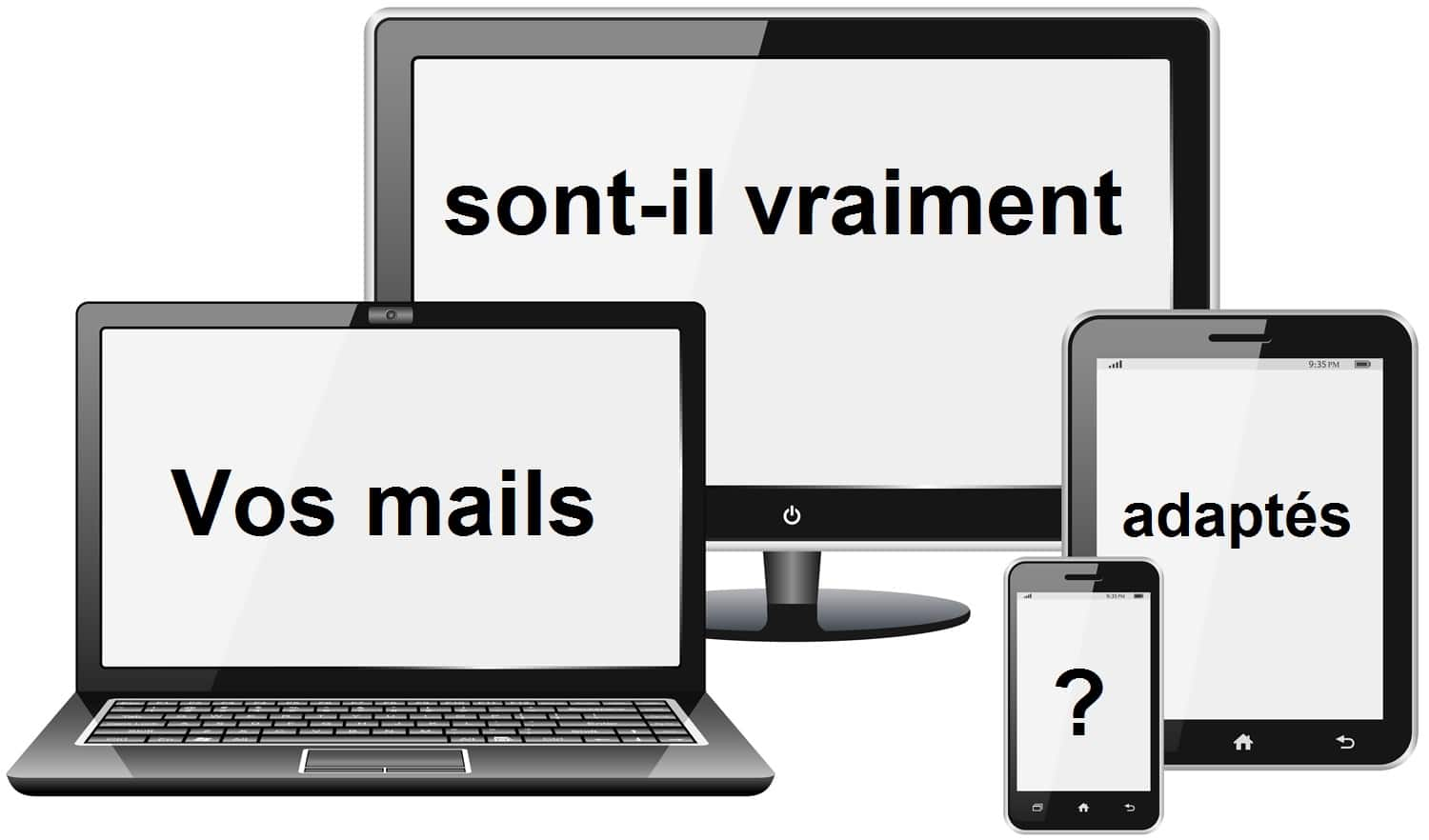 différents supports mails