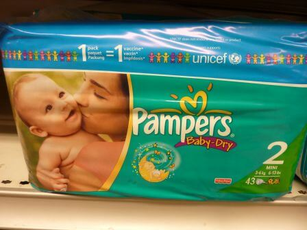 Marketing éthique: Pampers