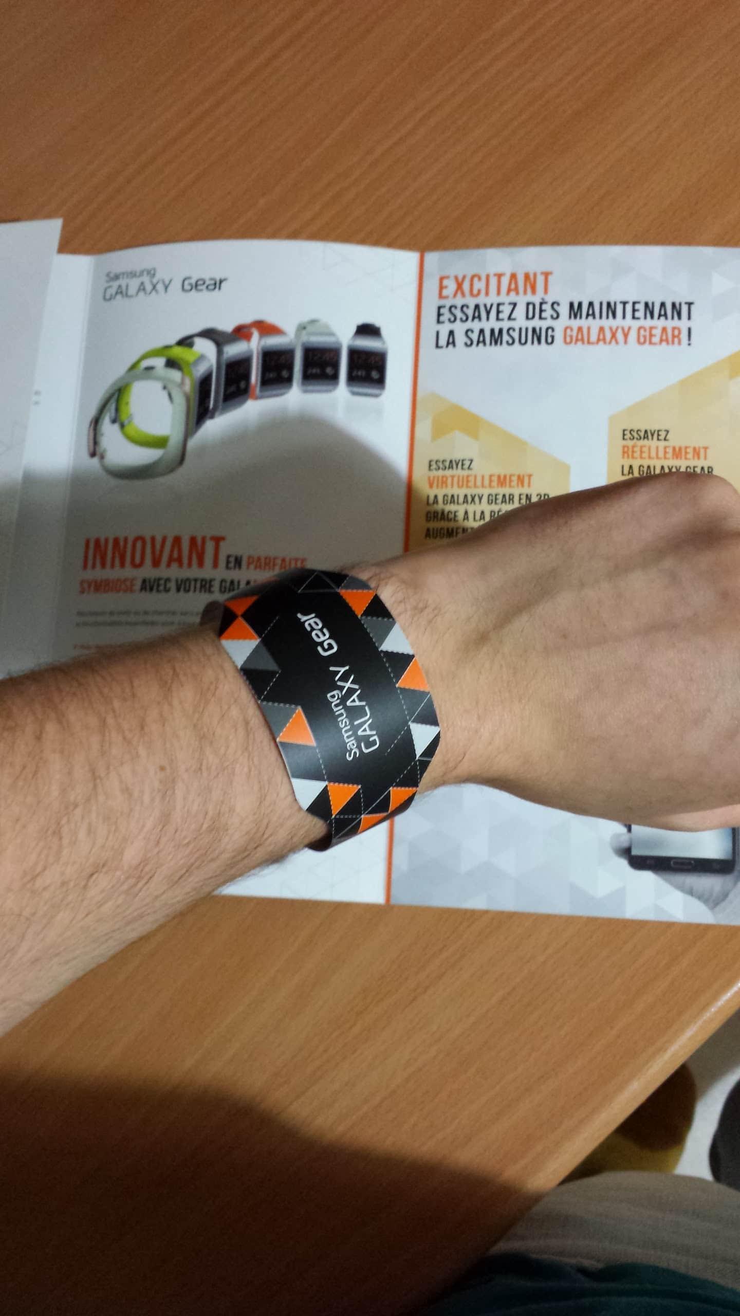 Bracelet Galaxy Gear Print