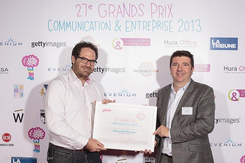 Prix communication et entreprise Gabriel Dabi-Schwebel