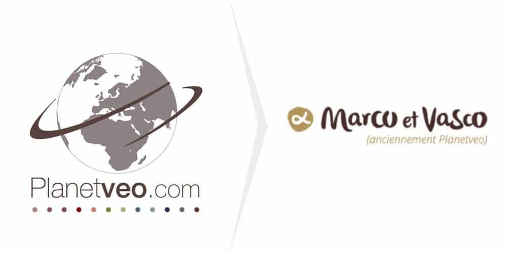 Changement de nom PlanetVeo en Marco et Vasco