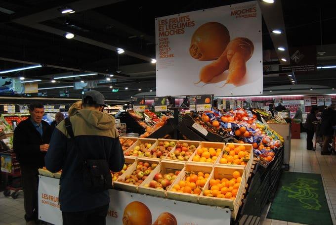 Le marketing d'Intermarché : les fruits et légumes moches