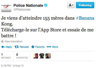 police-banana