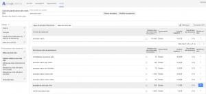 Google AdWords outil de planification des mots clés