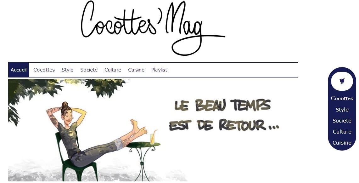 Cocottes mag, le blog tendance lifestyle - mode - cocottes
