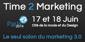 1min30 participe au salon Time 2 Marketing le 17 Juin 2014
