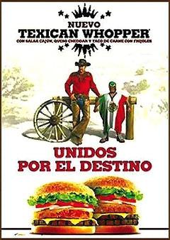 Publicité BK Texican Whopper