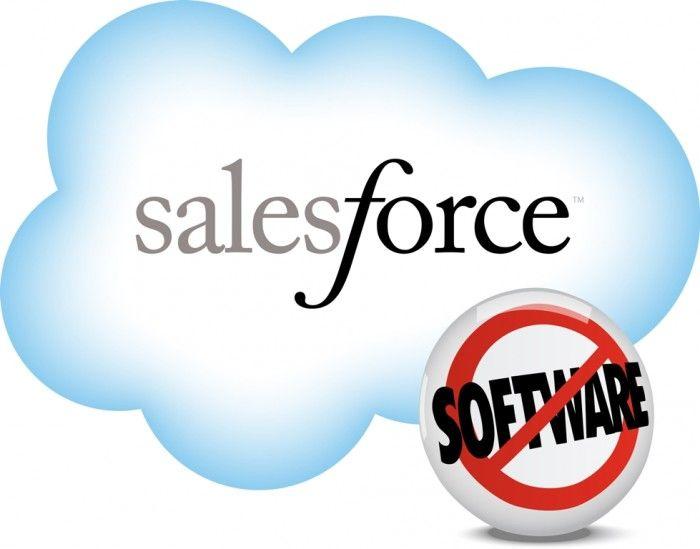 Sales Force est la référence sur CRM en mode SAAS