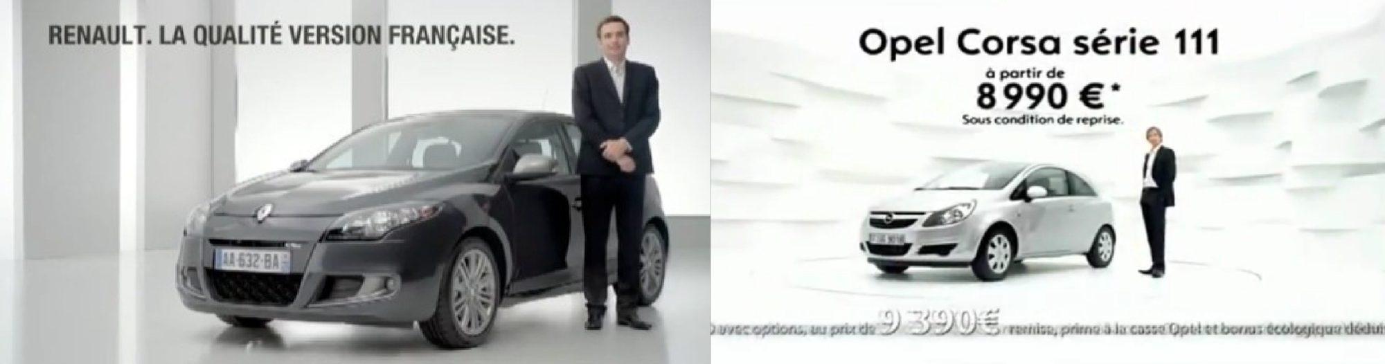 Opel Renault duel