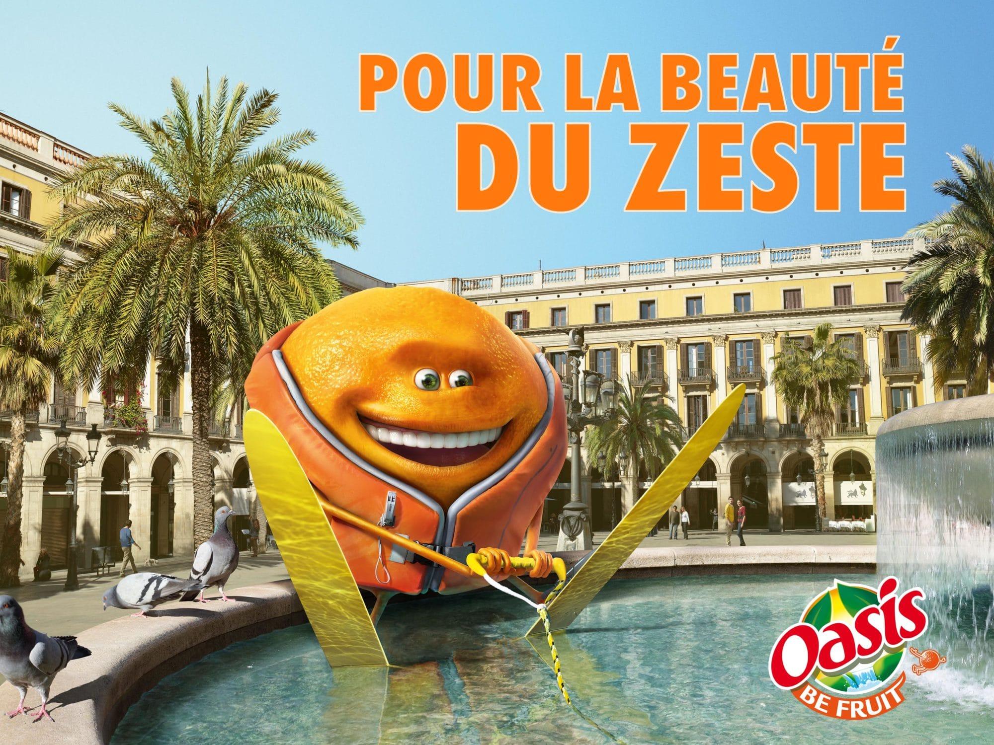 Oasis publicité