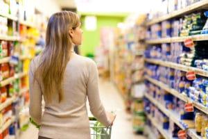retail supermarche courses