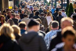 societe foule crowd urbain jungle