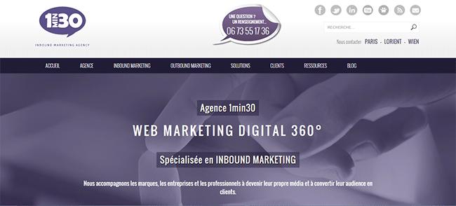 site web 1min30