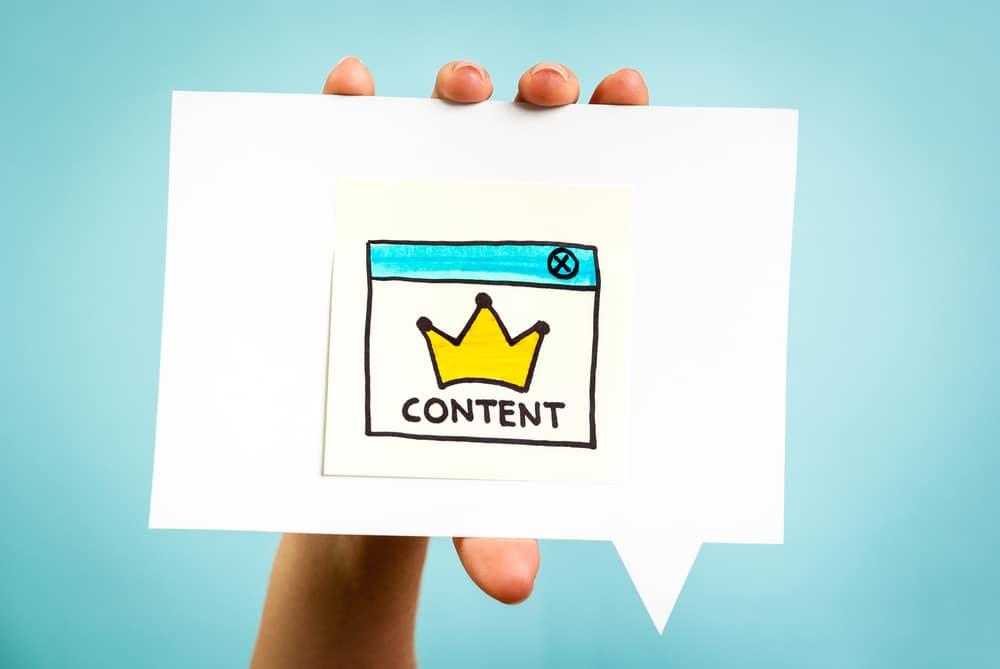 Le contenu est roi