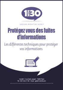 Protégez-vous des fuites d'informations