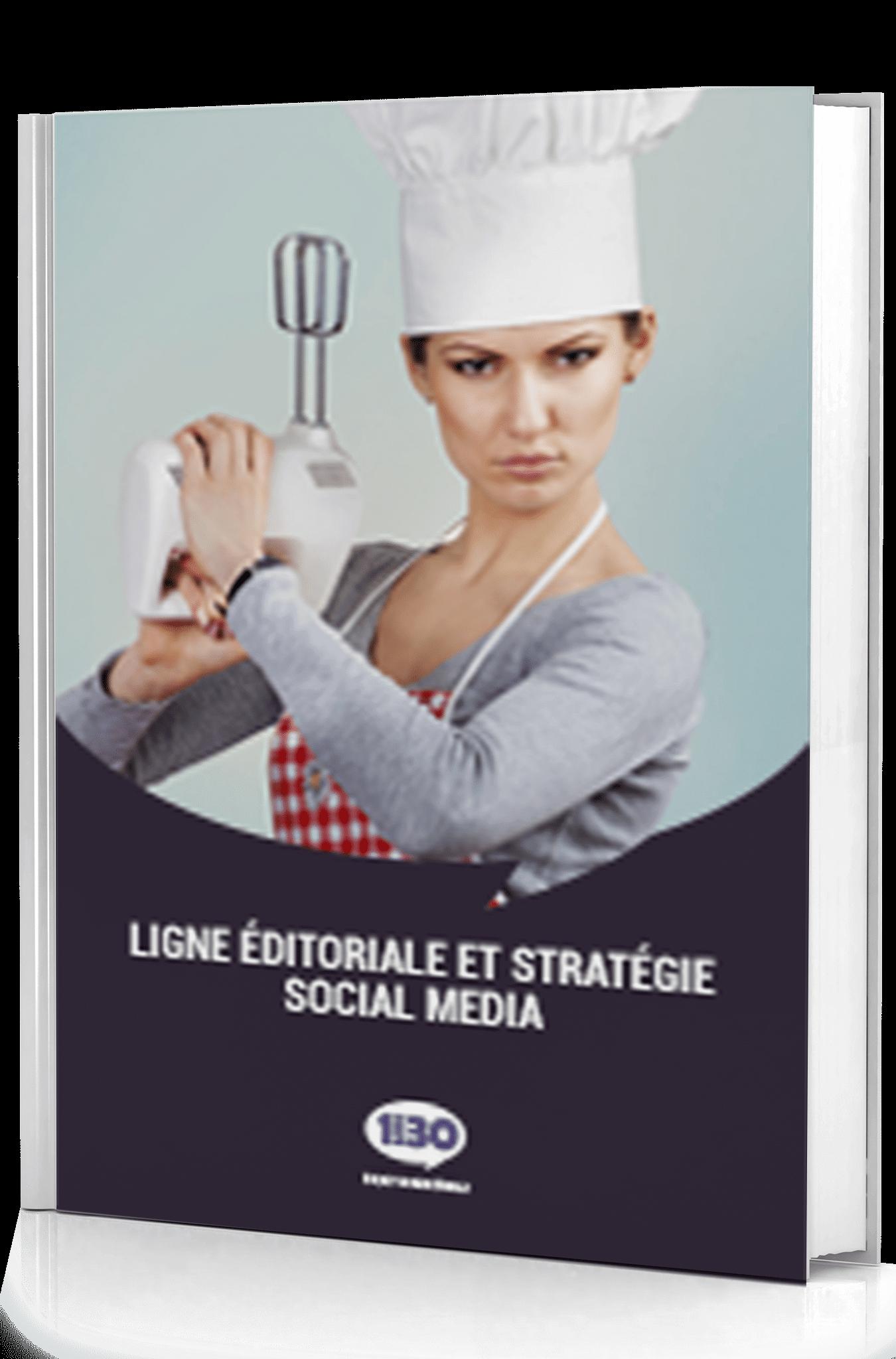ligne édito social média