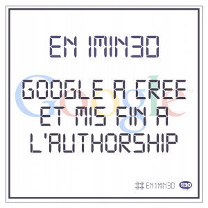 En 1min30, Google a créé et mis fin à l'Authorship