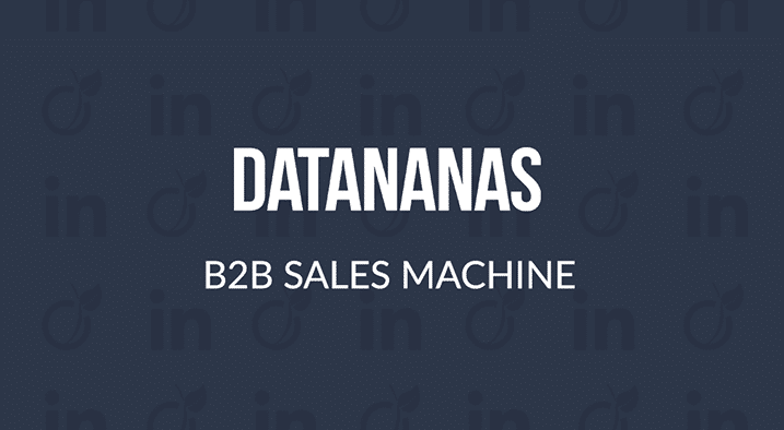 1min30 a testé Datananas, un logiciel pour créer des listes de prospects B2B à partir de LinkedIn (et Viadeo)