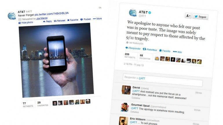 AT&T bad newsjacking