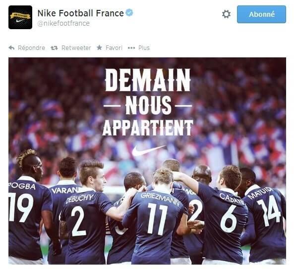 Nike France newsjacking