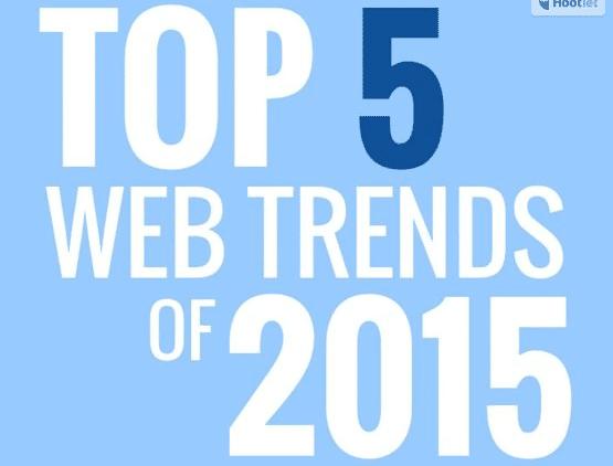 Les tendances web 2015