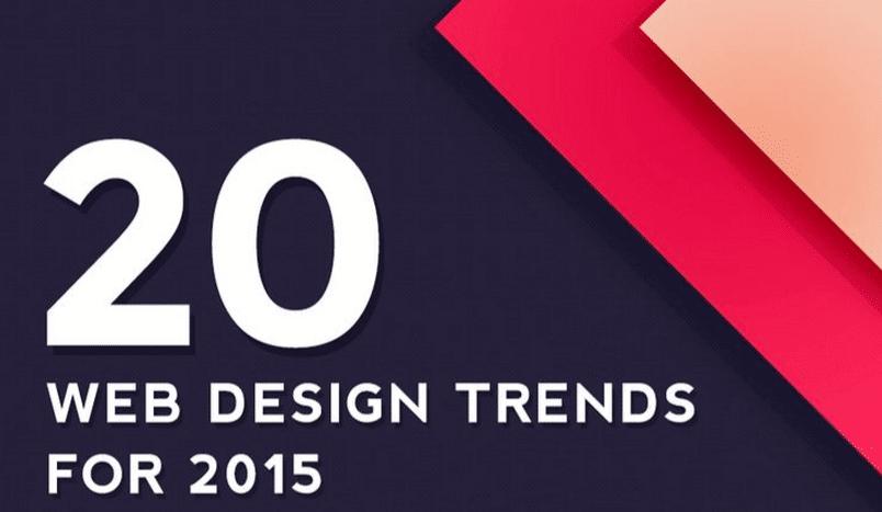 Les tendances Web Design de 2015