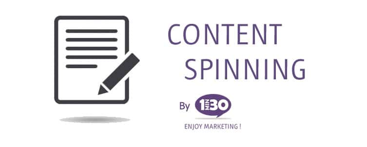 Définition du Content Spinning