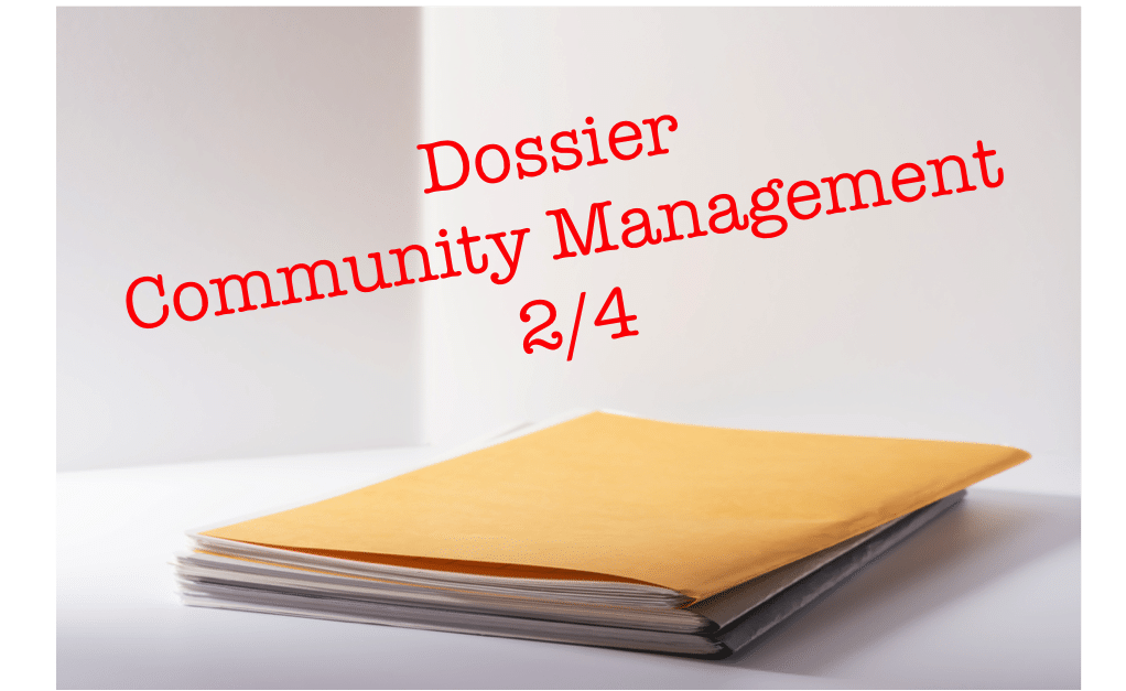 Dossier Community Management (2/4)