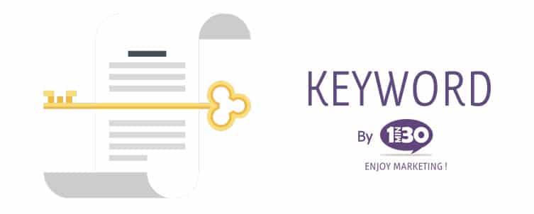 La définition d'un keyword