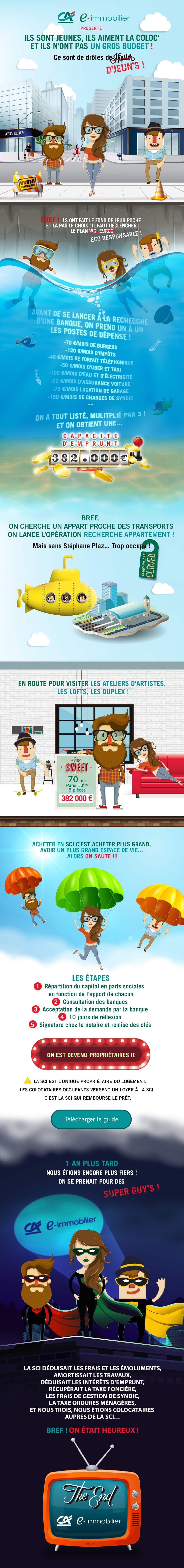 Infographie Crédit Agricole