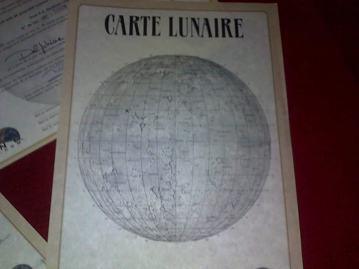carte lunaire