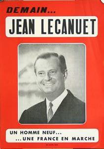 Affiche Lecanuet