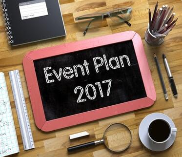 Planification des événements 2017