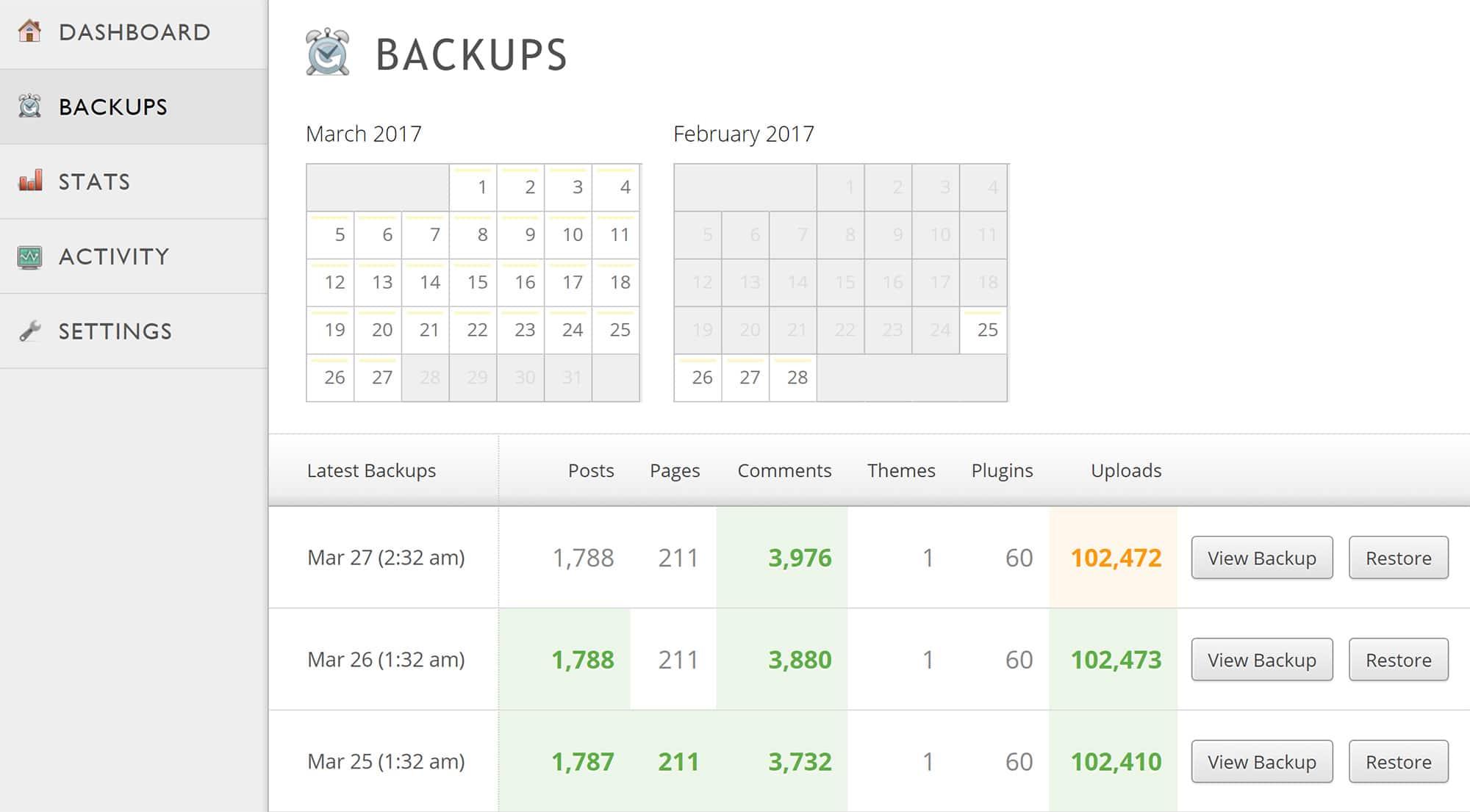 2 outils pour sauvegarder son site wordpress