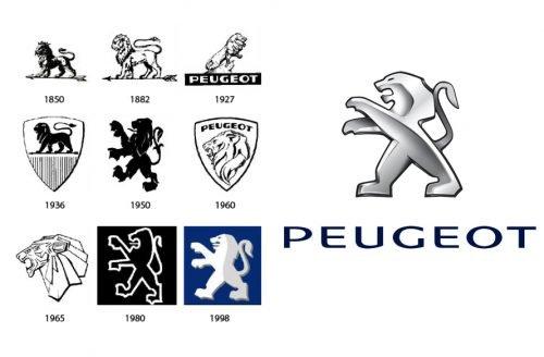 Histoire logo Peugeot