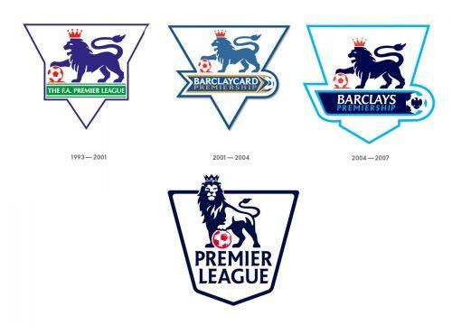 Histoire logo Premier League