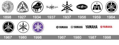 Histoire logo Yamaha