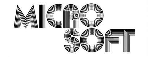 Logo Microsoft 1975