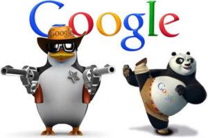 Panda et Pinguin