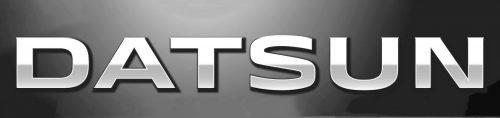 Type lettres Datsun logo